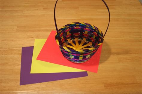 A Paper Basket - make your own easter basket grass with a paper shredder