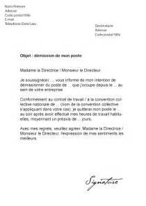 lettre de d 233 mission pour un emploi au luxembourg