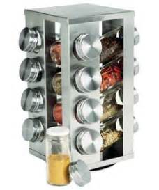 buy 16 jar stainless steel revolving spice rack at argos