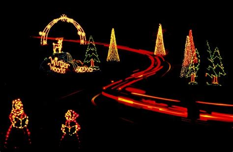 drive thru gaithersburg s winter lights video