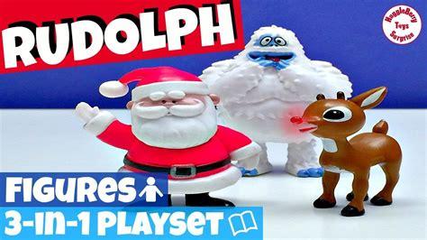 Busy Book Rudolph By Fivairrie rudolph toys snowman toys santa claus toys