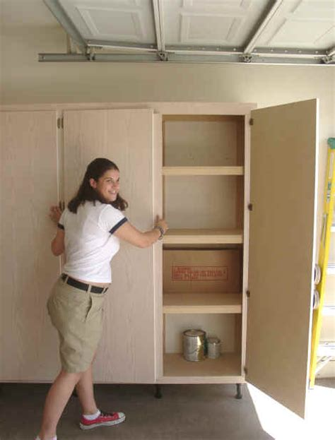 Wooden Garage Storage Cabinets Plans