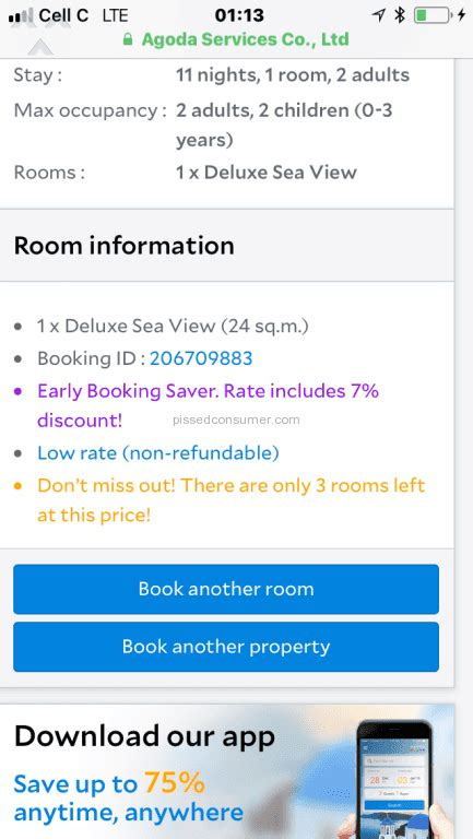 agoda refund 27 agoda room booking reviews and complaints pissed consumer