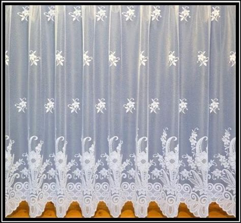 curtain widths and drops scalloped white net curtains special drop sizes 4 designs