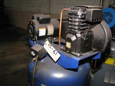 campbell hausfield  hp  phase vertical air compressor ebay