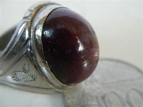 Batu Akik Hati Gurango Daging dinomarket pasardino cincin batu akik rubi daging