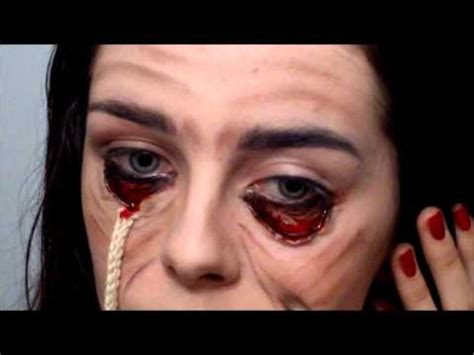 fx tutorial makeup stretched face halloween special fx makeup tutorial