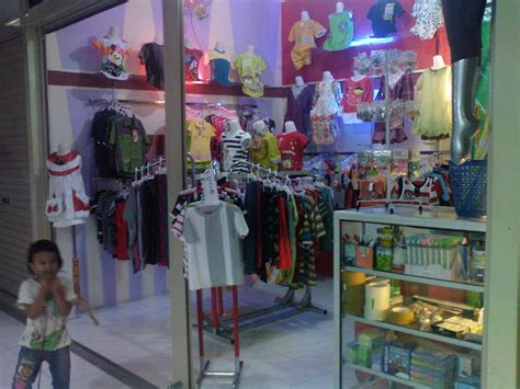 layout toko pakaian anak toko baju anak baby doll baju tidur batik dan daster