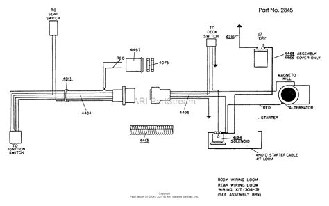 wiring diagram for husqvarna zero turn mower solenoid 53