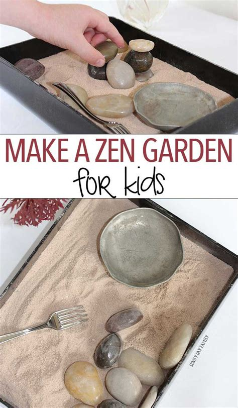Rock Garden Supper Club Make A Zen Garden For Gardens Garden Crafts And For