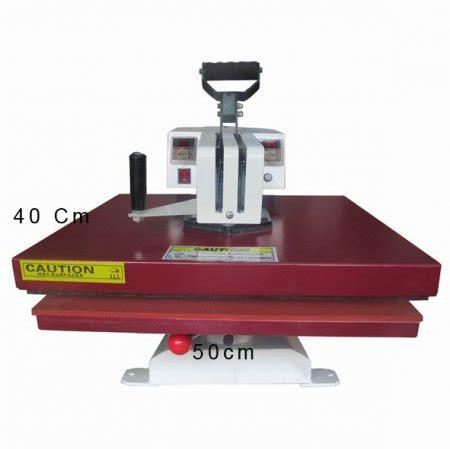 Mesin Sablon Kaos Digital 40x50 jual mesin press kaos swing 40 x 50 toko mesin cutting