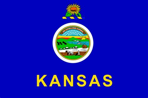 Kansas The 34th State by 51 Best U S A States Flags Images On 50 States