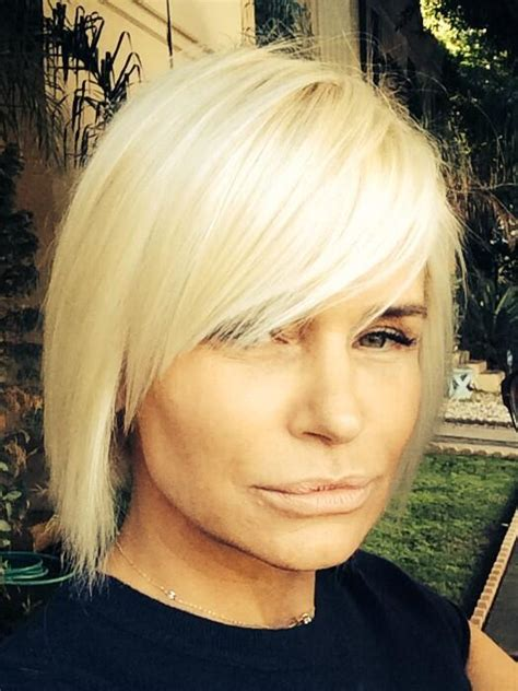 housewives of beverly hills hairstyles tamra barney gets bangs yolanda foster debuts shorter