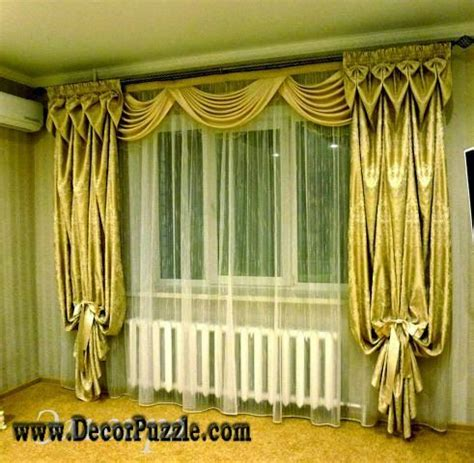 curtain hanging styles 309 best images about curtains on pinterest window