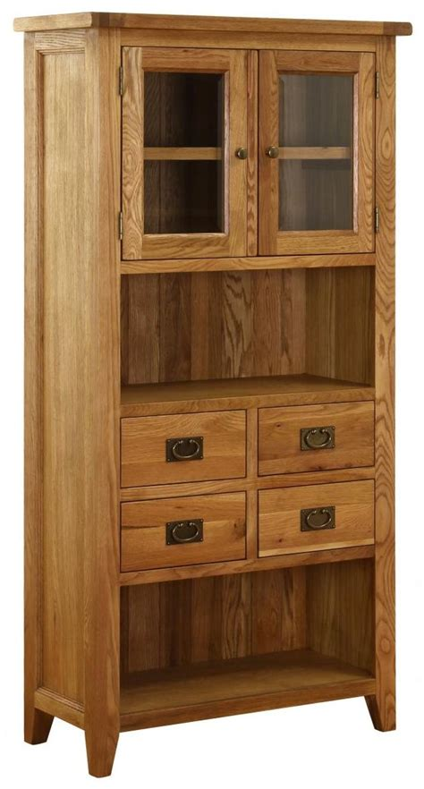 corner display cabinet with drawers vancouver petite oak corner display cabinet 1 door 1 glass