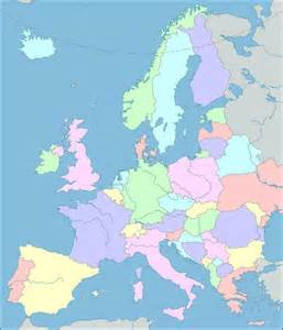 Detailed Map Of Europe by Europe Map Interactive Map Of Europe Showing Countries