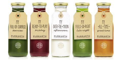 Pureflush Brand Detox Drink by Purearth Cleanse The Dieline Packaging Branding