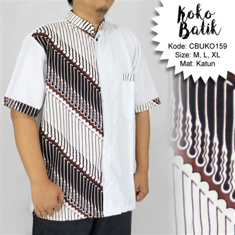 Parang Seling koko batik katun motif parang seling koko batik murah