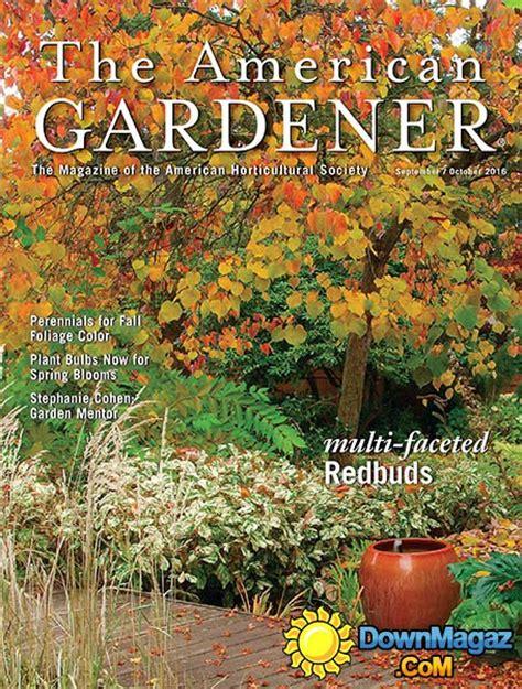 the american gardener september october 2016 187 download