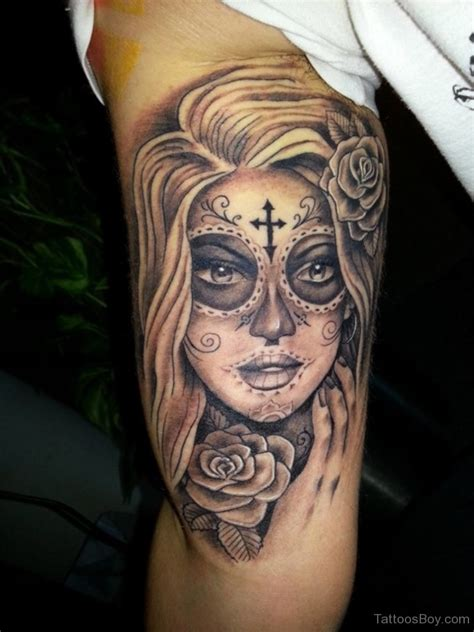 tattoo chick shoulder tattoos designs pictures