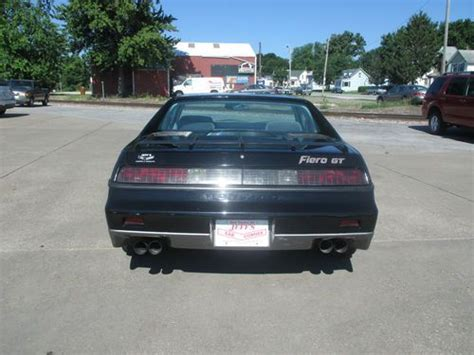 automobile air conditioning service 1985 pontiac 1000 free book repair manuals find used 1985 pontiac fiero gt in davenport iowa united states for us 5 200 00