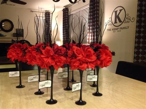 black and silver centerpiece ideas 25 best ideas about black and white centerpieces on