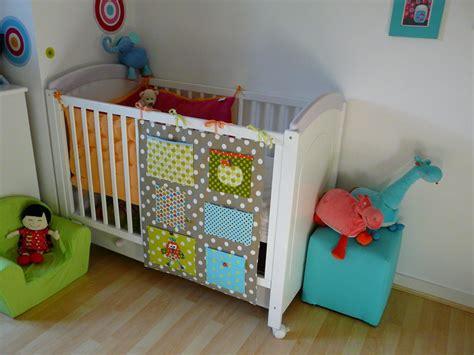 couture deco chambre bebe vide poches de lit la p tite fabrique de soize