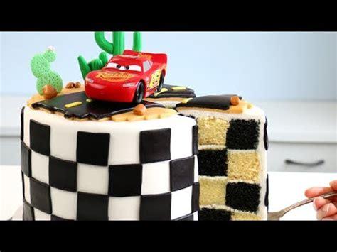 cars  cake  checkered flag  youtube