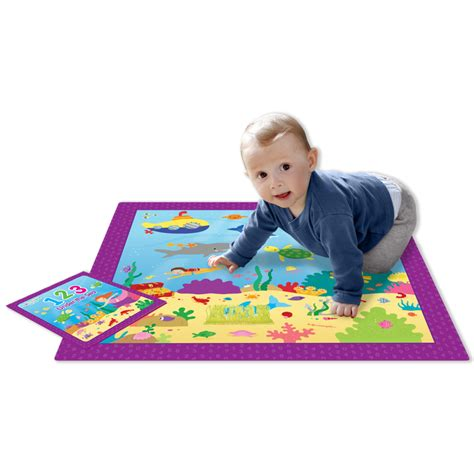 The Sea Play Mat by Book Peek A Boo Play Mat And Book 123 The