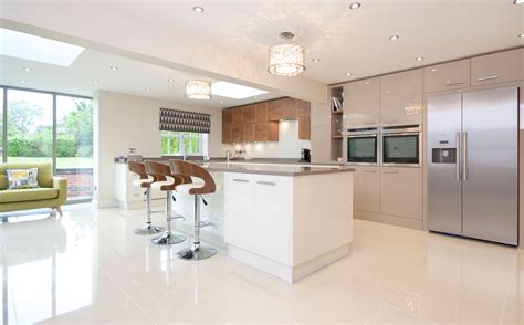 White Kitchen Cabinets Design osborne of ilkeston