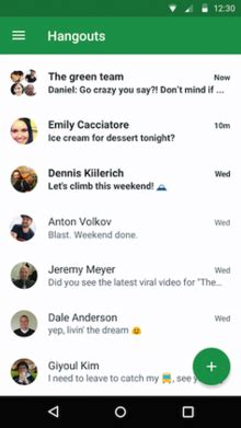 what is hangouts on android hangouts