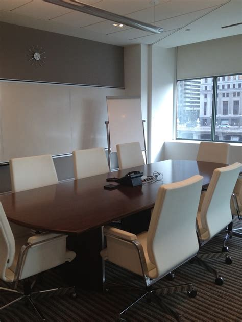 Kimball Conference Table Kimball Office Furniture Classic Cherry Conference Table Matched With A Modern White Chair