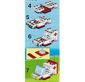 LEGO Small Ambulance Instructions 6523 Rescue