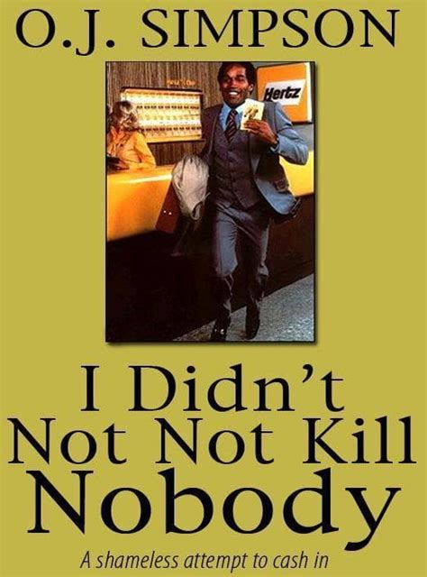 Yay Oj Book Tv Special Canceled by O J Quot If I Did It Quot Book Original Copy All Yours