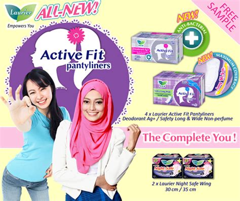 Laurier Pantyliner Active Fit laurier active fit pantyliner deodorant free sle