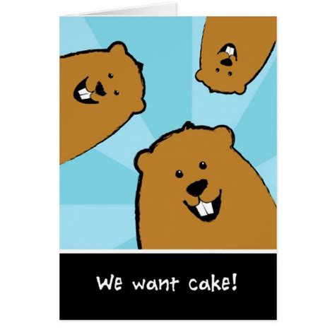 groundhog day birthday groundhog day birthday card searching for cake zazzle