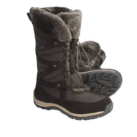 s winter boots with fur khombu s marker winter boots suede faux fur