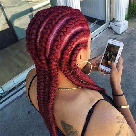 red cornrow braided hair best 25 big cornrows ideas on pinterest natural braids