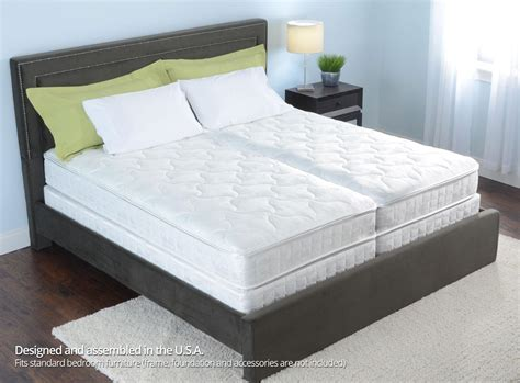 sleep number bed c2 8 quot personal comfort a2 bed vs sleep number bed c2 split