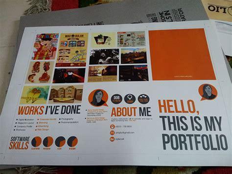 portfolio self promo on behance