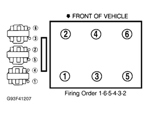 diagram firing order on buick riviera 89 3800 v6 fixya