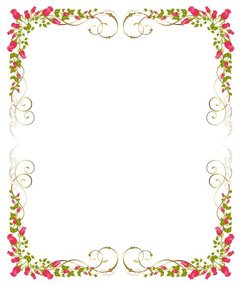 backdrop border design flower background frame 09 vector eps free download logo