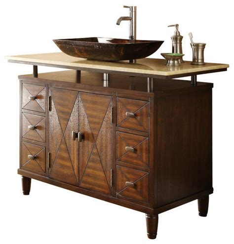 bathroom vanities with vessel sink 48 quot onyx counter top verdana vessel sink bathroom vanity