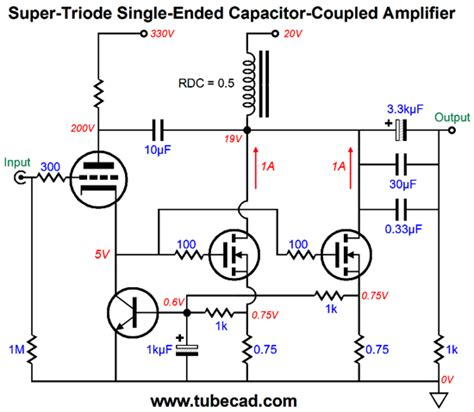 capacitor coupled lifier more triode lifiers