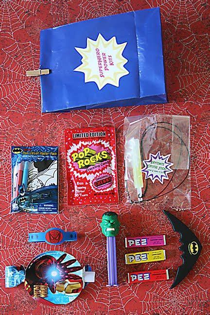 superhero goodie bag darling darleen  lifestyle