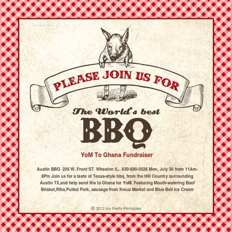 bbq fundraiser flyer template search results for bbq tickets template calendar 2015