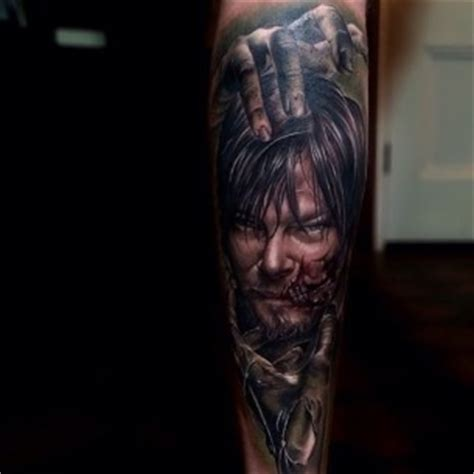 tattoo on shane s chest walking dead realistic tattoos best tattoo ideas gallery part 13