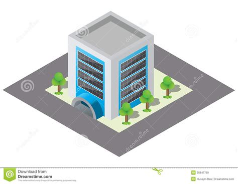 Barn Apartment Plans isometric building royalty free stock images image 35847769