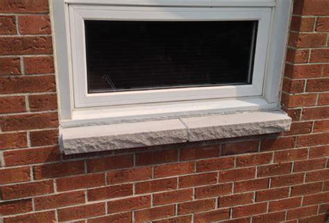 kalkstein fensterbank brick to window sill replacement ottawa