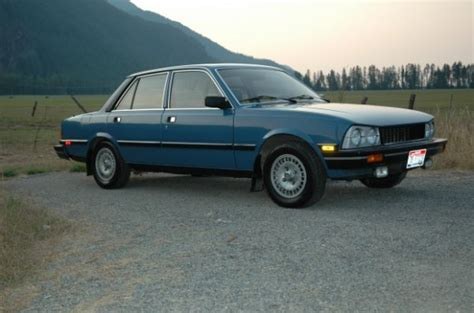 1982 peugeot 505 s turbodiesel bring a trailer